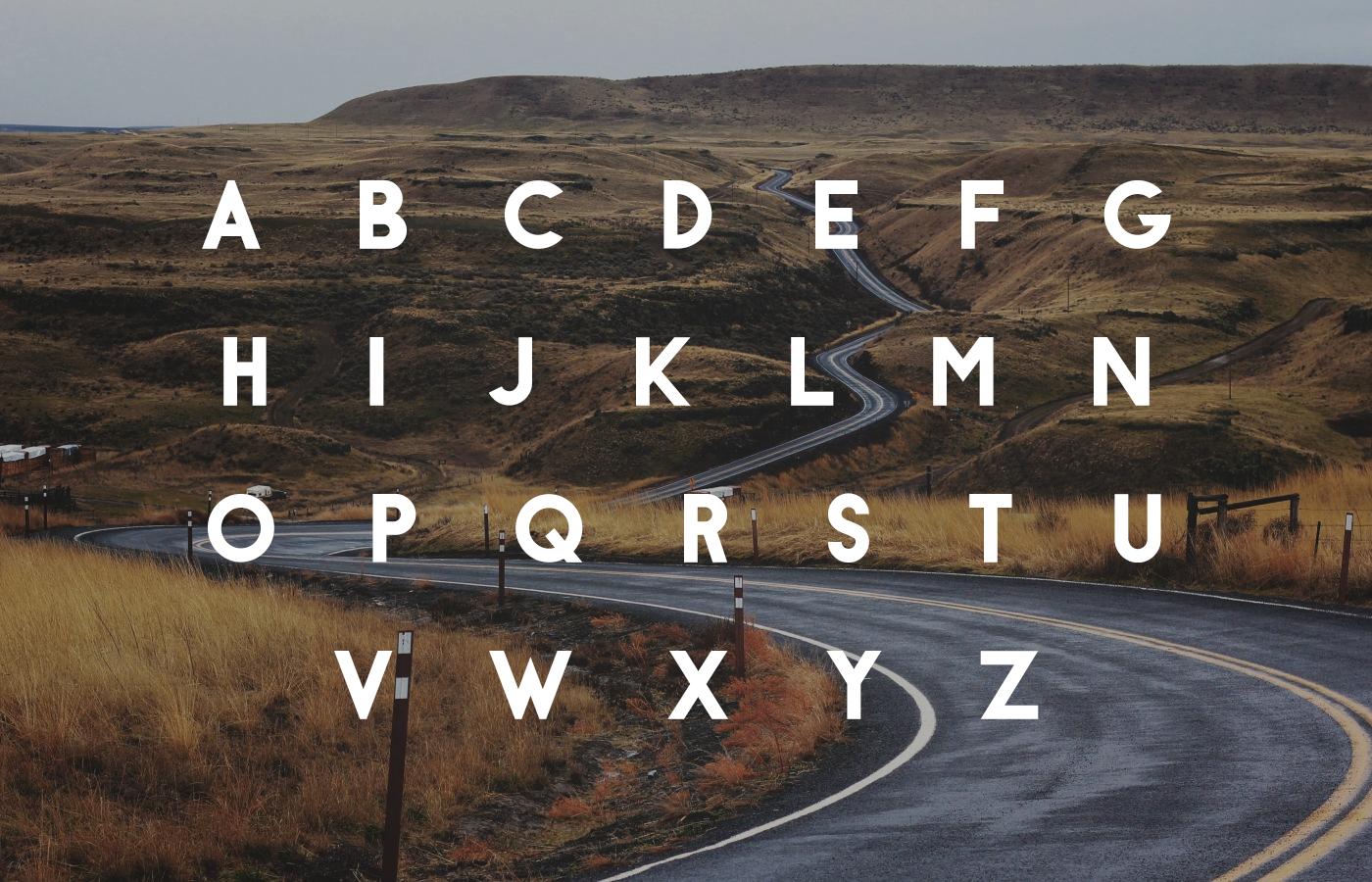 Antraste Geometric Sans Font