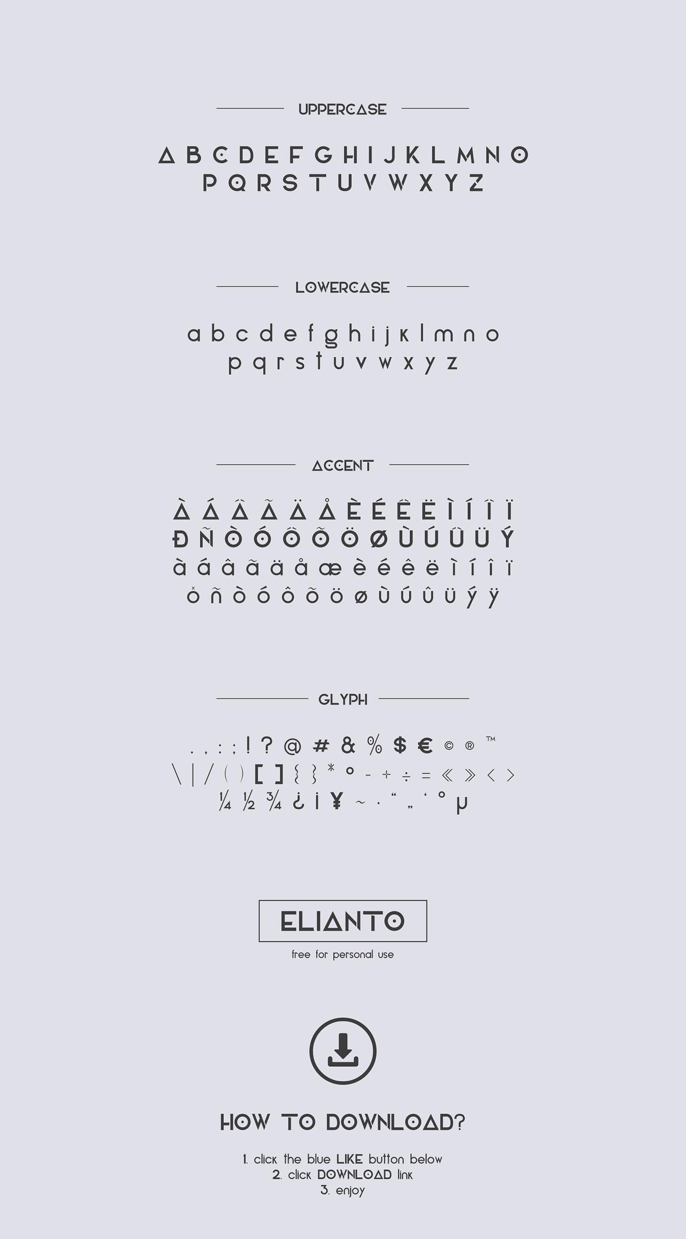 Elianto Font