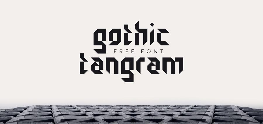 Tangram Fonts Free Download