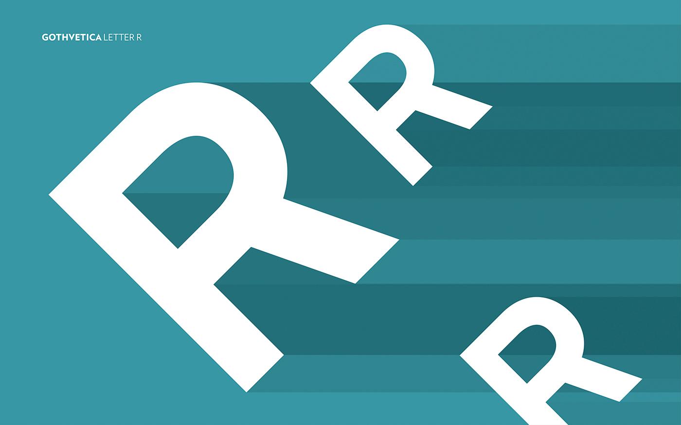 Gothvetica Font