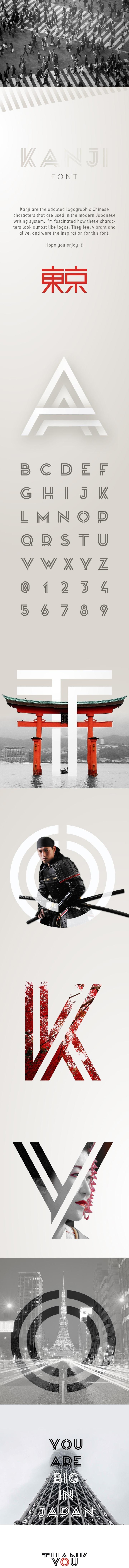 Kanji Font - Befonts com
