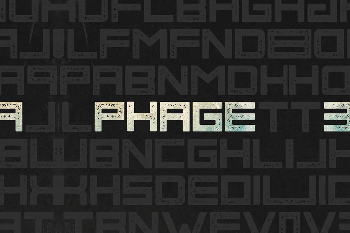 Phage Font