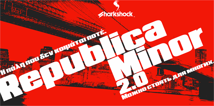 Republica Minor 2.0 Font