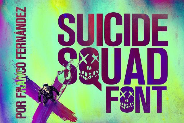 Suicide Squad Font - Befonts com
