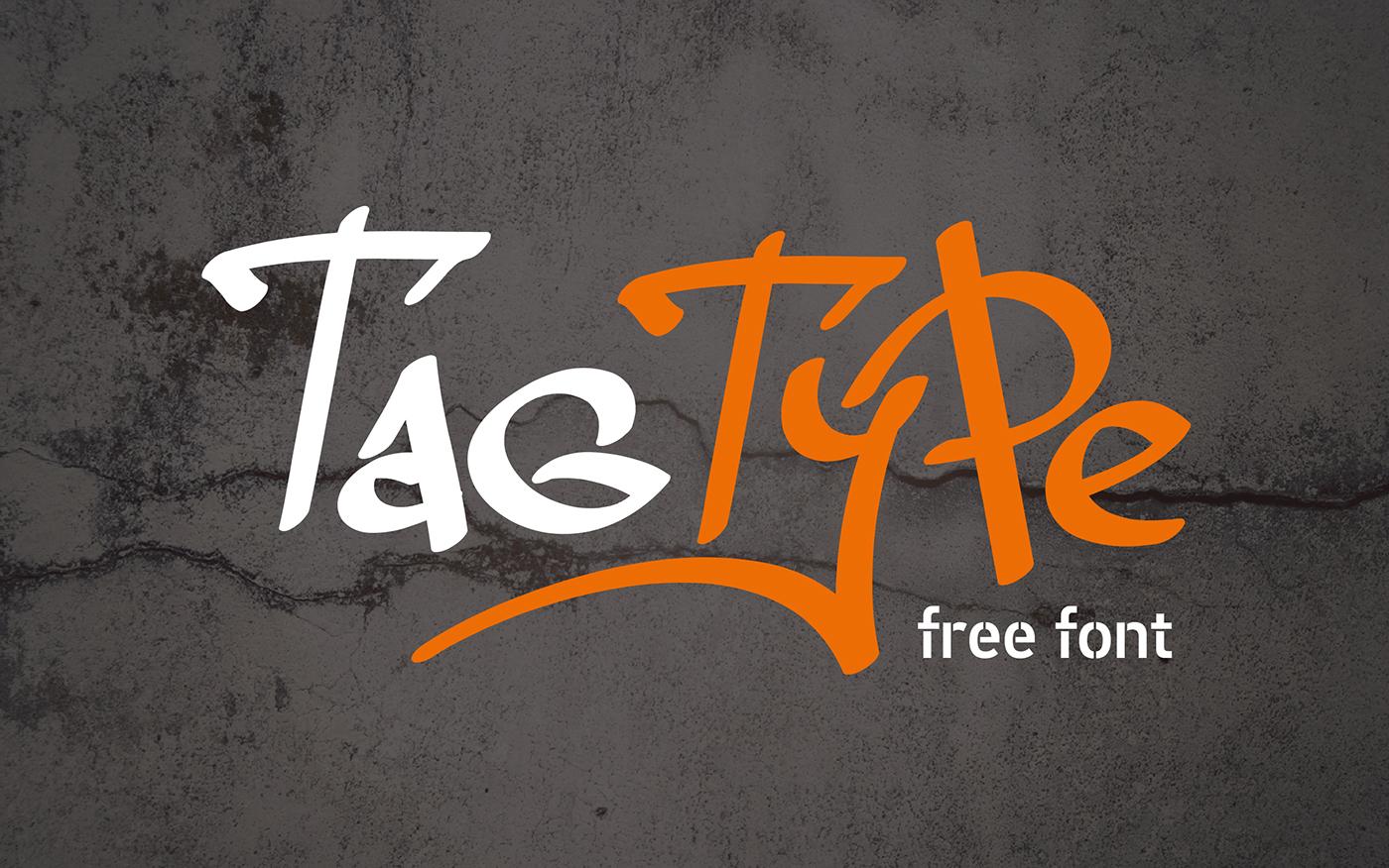 Tag type font befonts com