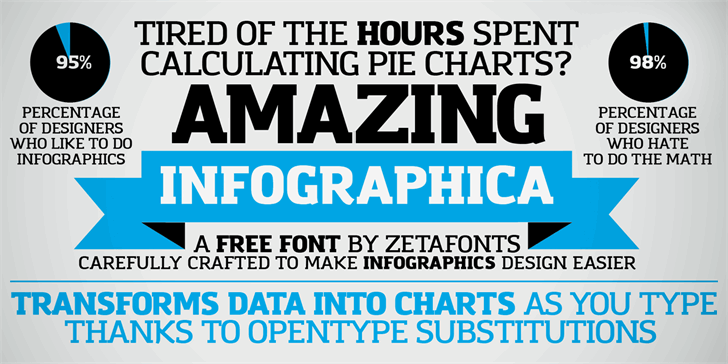 Amazing Infographic@ Font