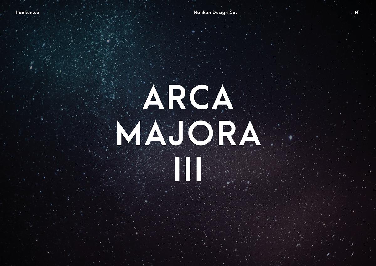 Arca Majora 3 Typeface