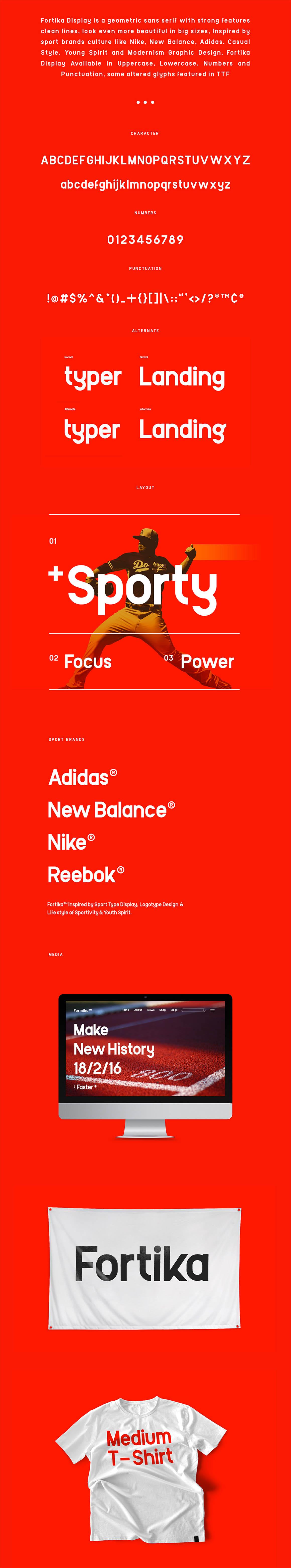 Fortika™ Display Typeface
