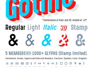 3D fonts - Befonts - Download free fonts