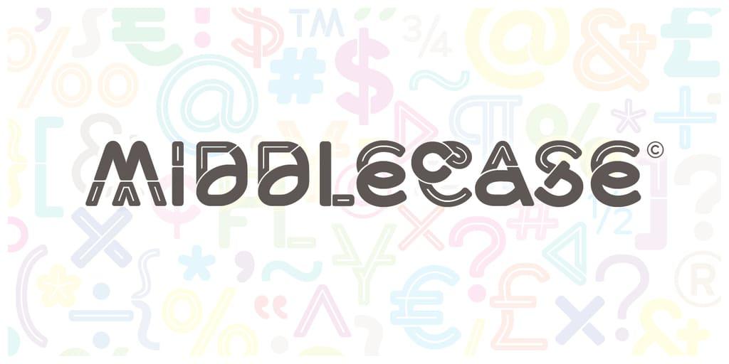 Middlecase Font Family