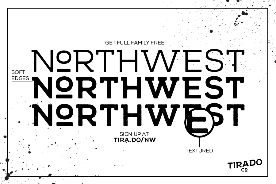 Northwest Typeface