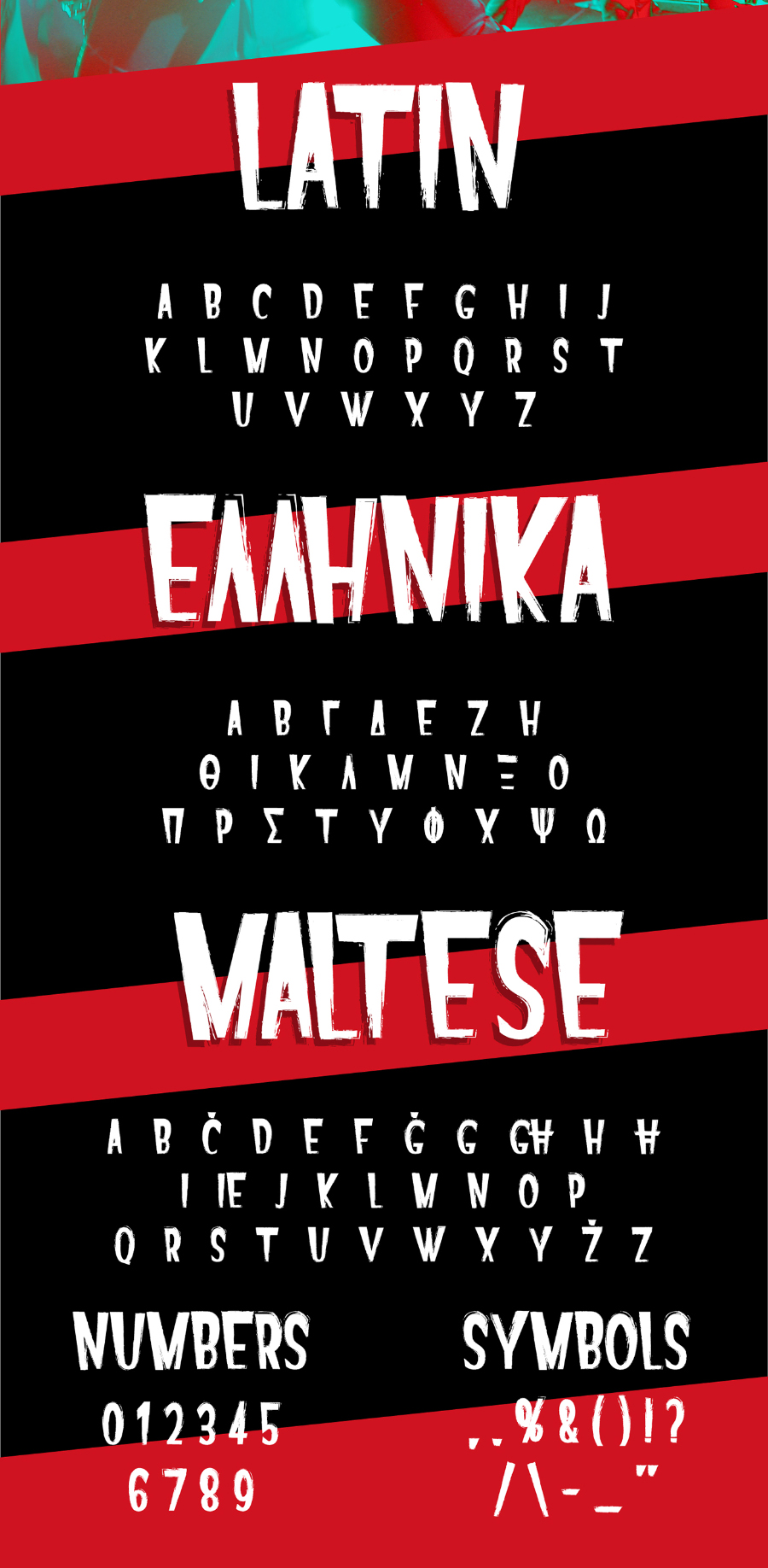 Repens Typeface