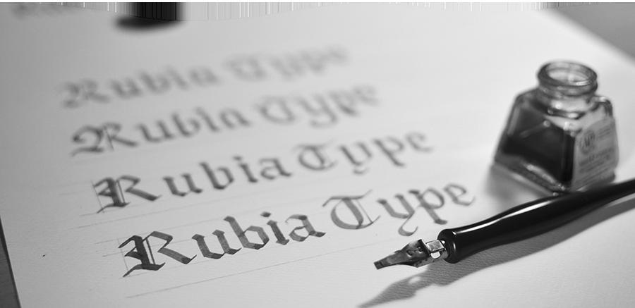 Rubia Typeface