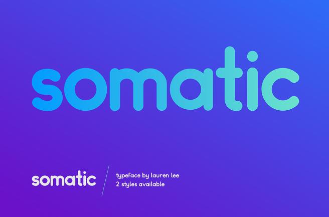 Somatic Font Family - Befonts com