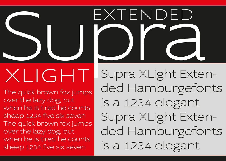 Supra Font Family
