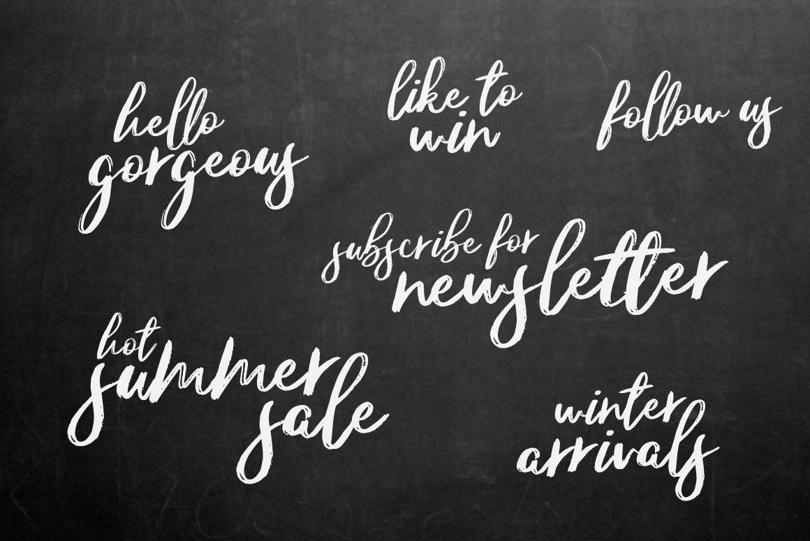 Amaranth Handwritten Font