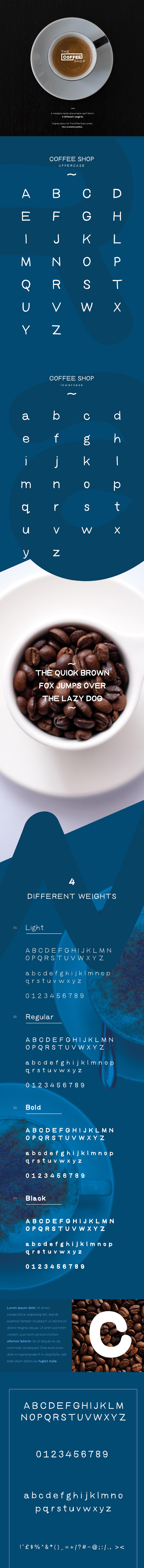 coffee-shop-free-font