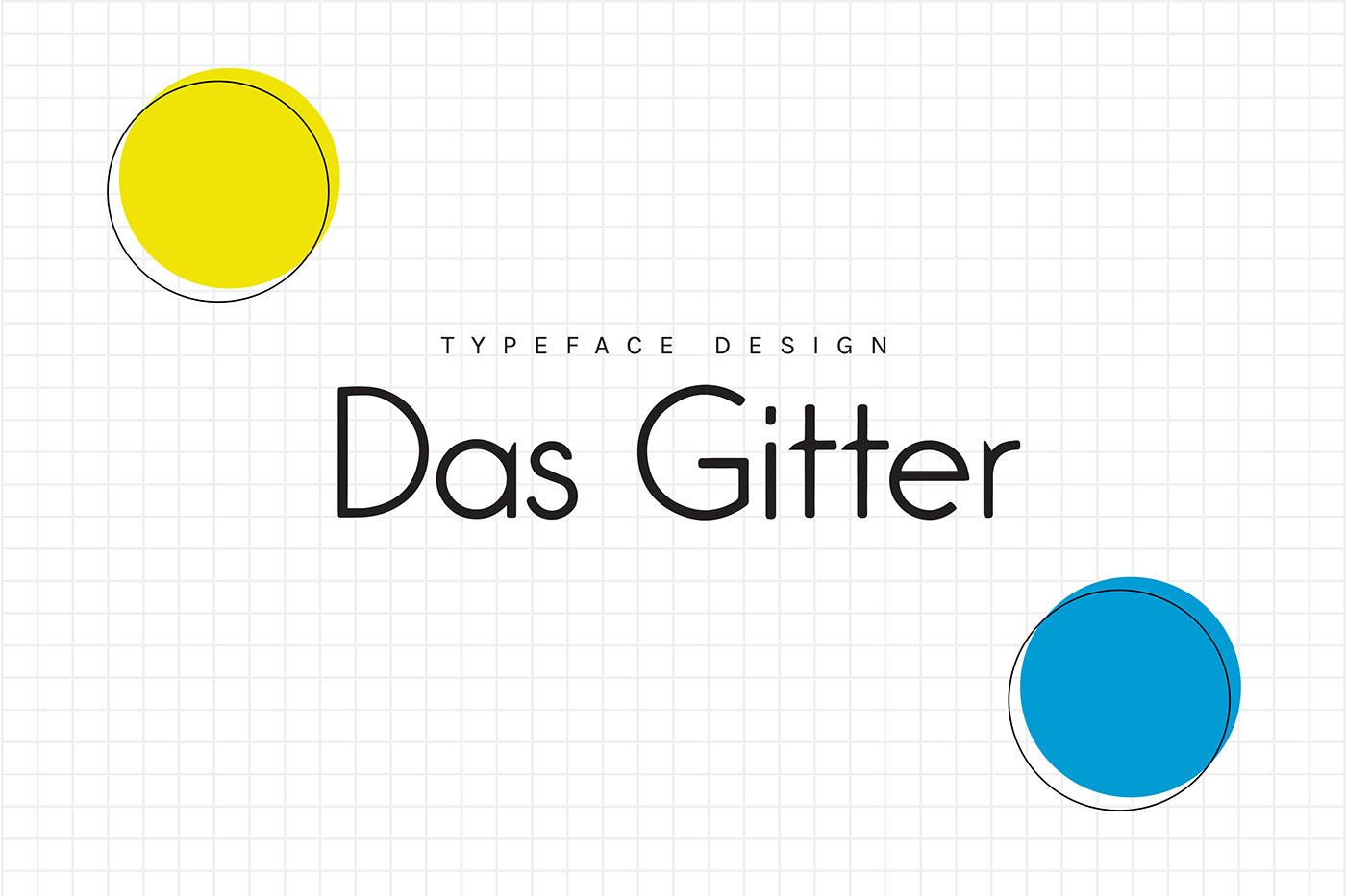 Das Gitter Typeface