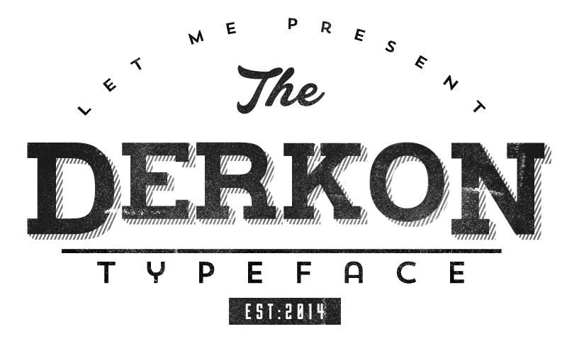 Derkon Typeface