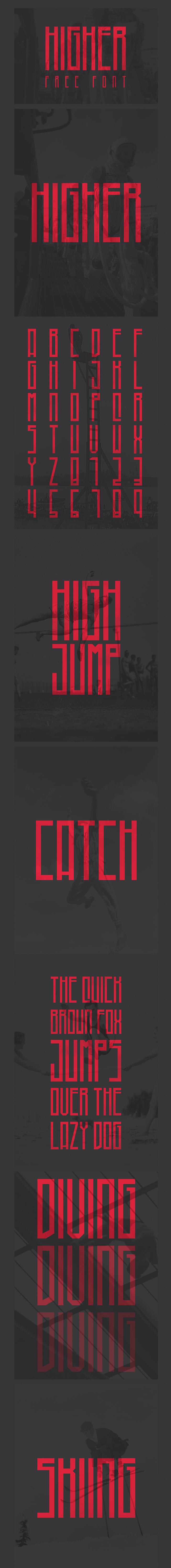 higher-font