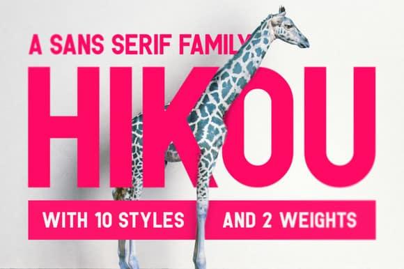 Hikou Font Download