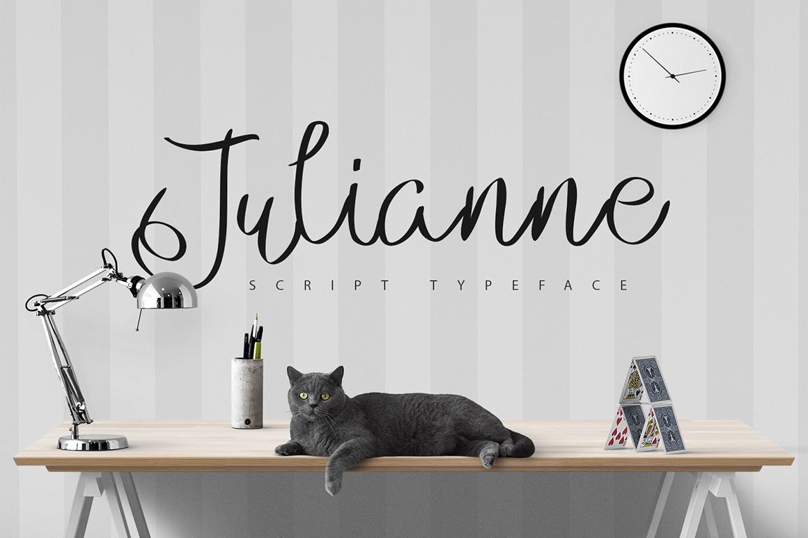 Julianne Script Typeface - Befonts com