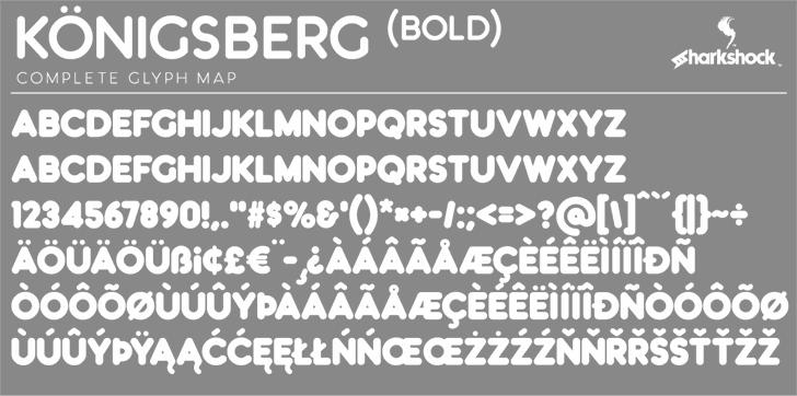 Königsberg Font