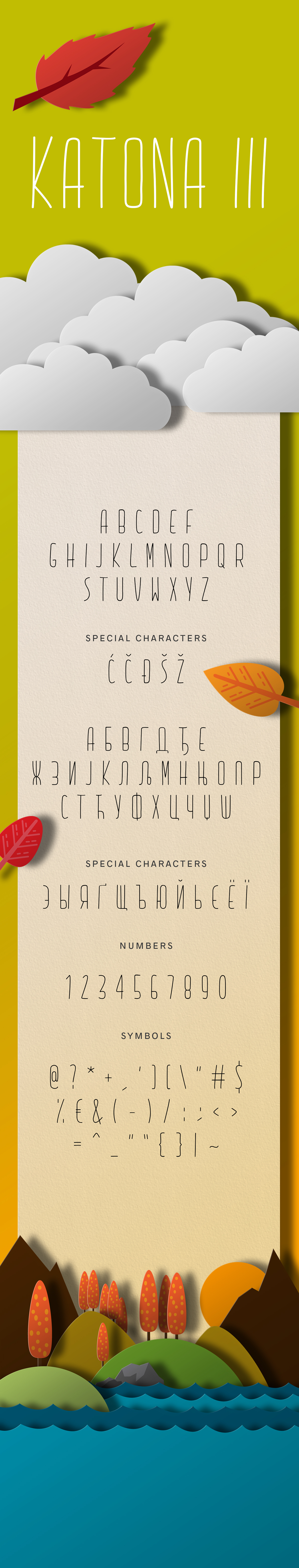 KATONA Typeface