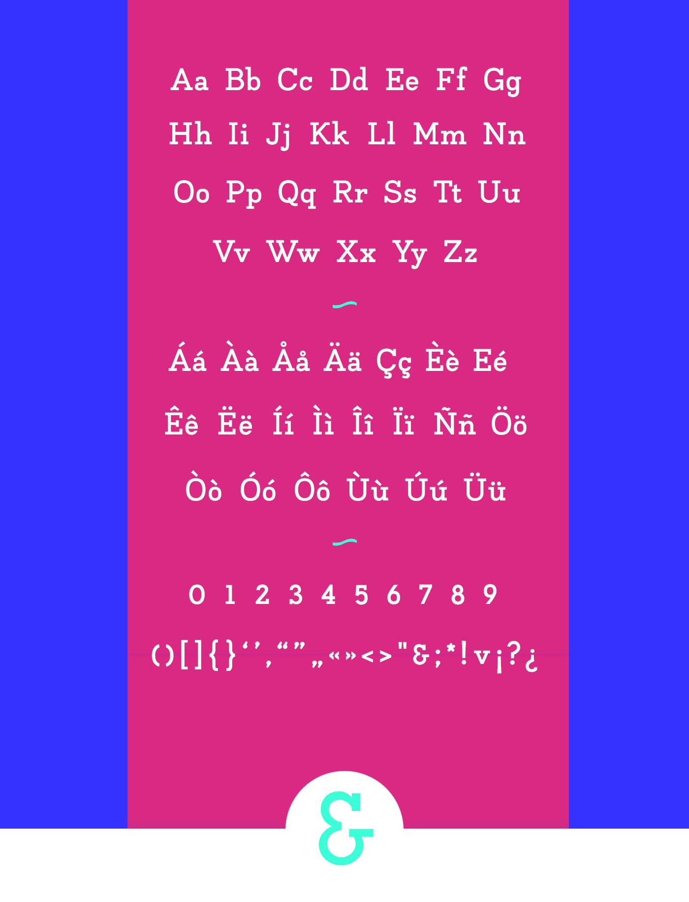 Napo Font Family