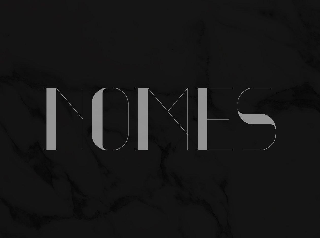nomed font