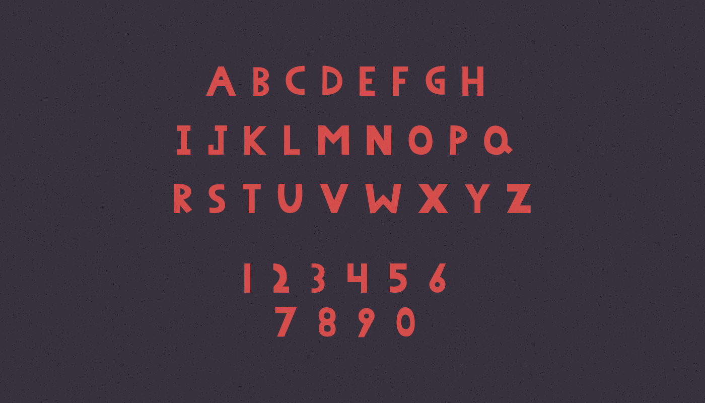 Peenu Hand Knitted Typeface