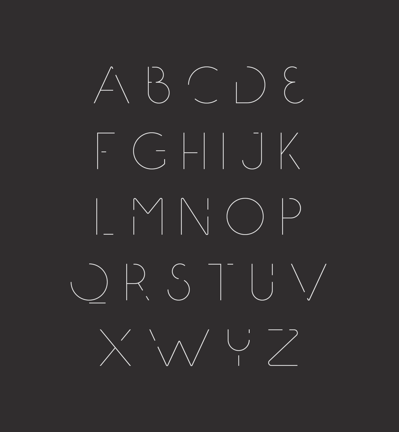 Speck Display Typeface