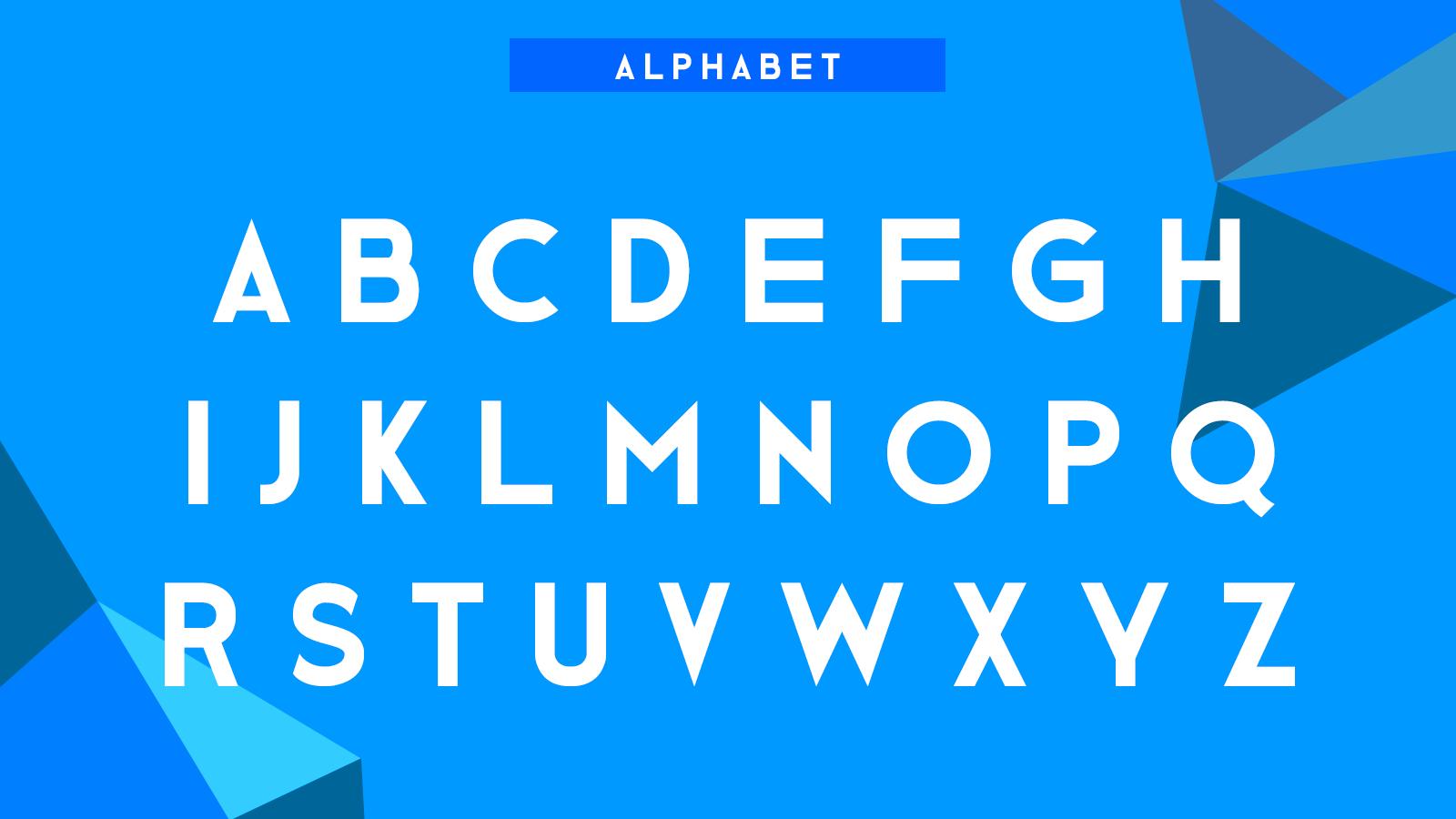 1-alphabet