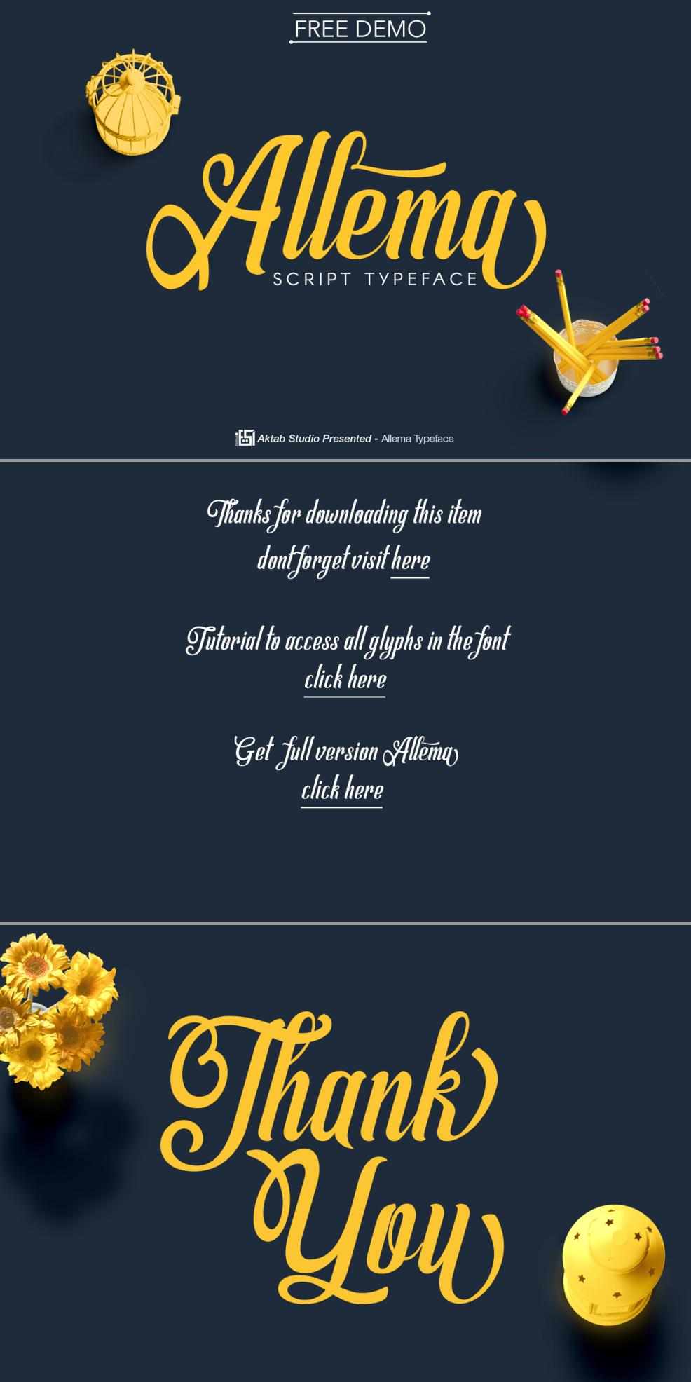 allema-font