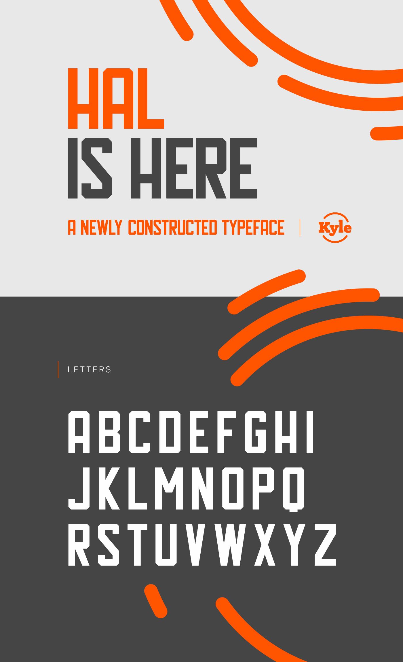 Hal Typeface