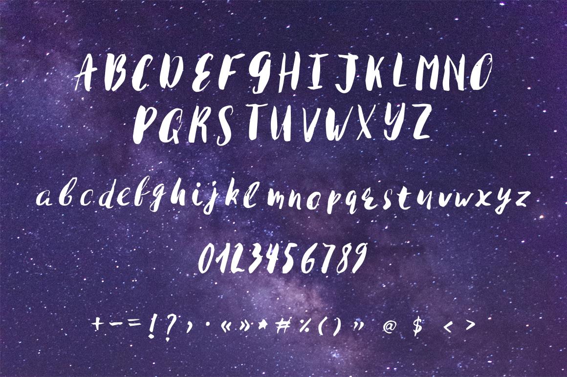 Kosmos Brush Font