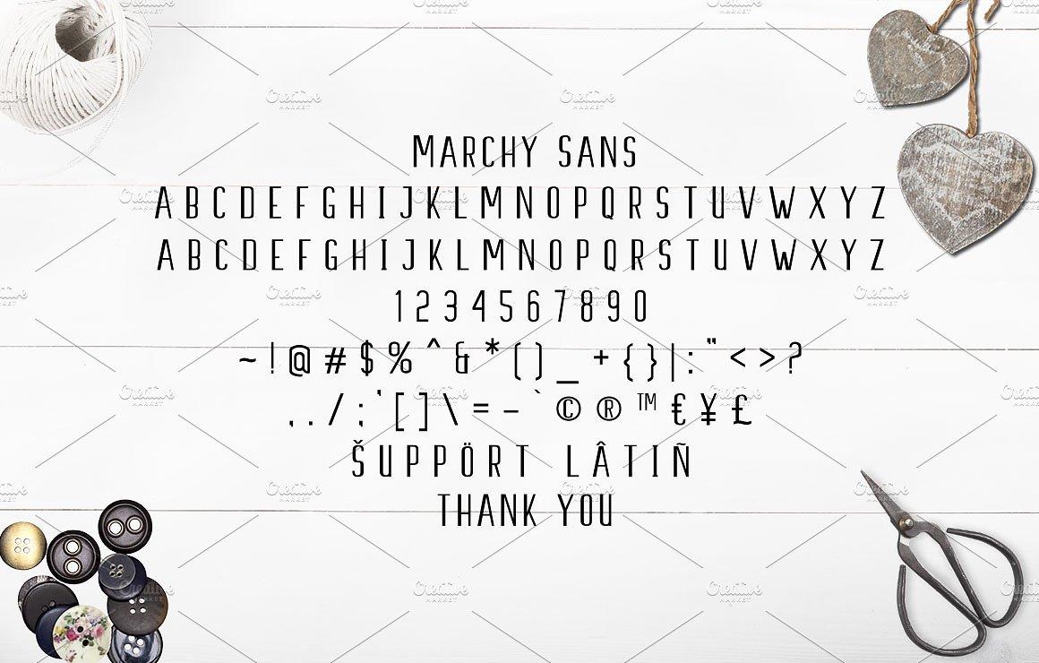Marchy Script Font