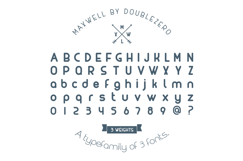 MAXWELL Font Family