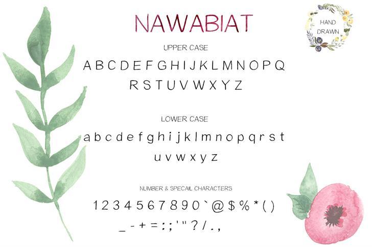 Nawabiat Font