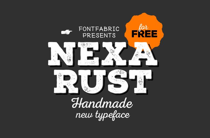 Nexa Rust Font Family - Befonts com