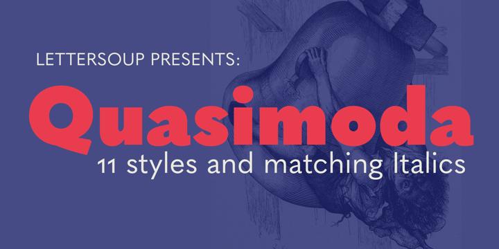 Quasimoda Font Family