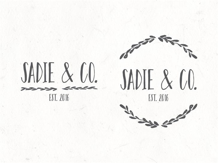 Sadie Sans Font