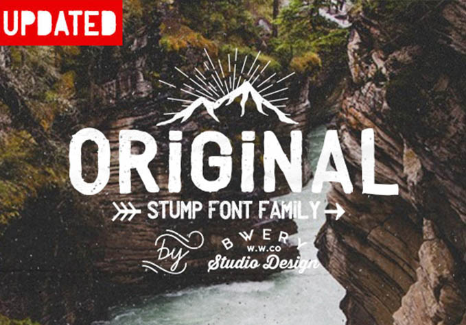Stump Typeface