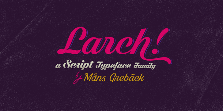 Bright Larch Font