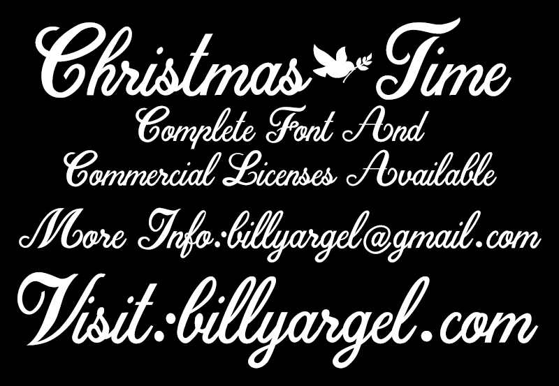 Download Christmas Time Typeface - Befonts.com