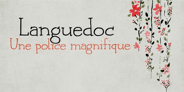 DK Languedoc Font