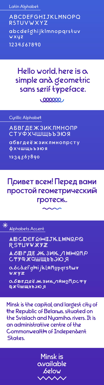 Minsk Typeface