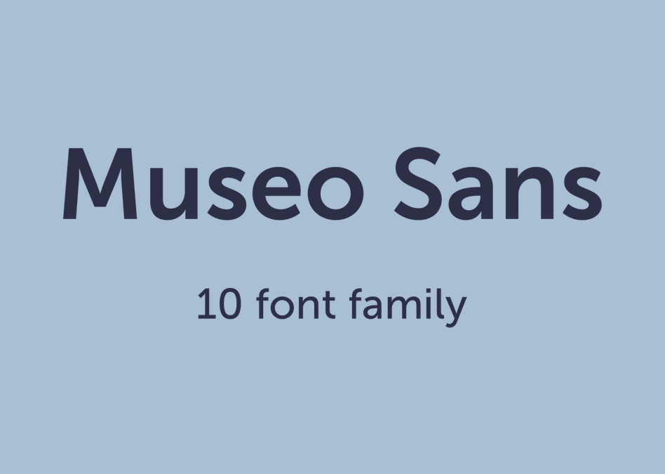 museo sans rounded 700 free download