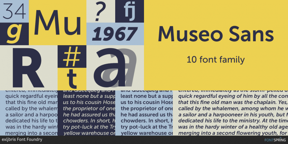 Museo Sans Font Family