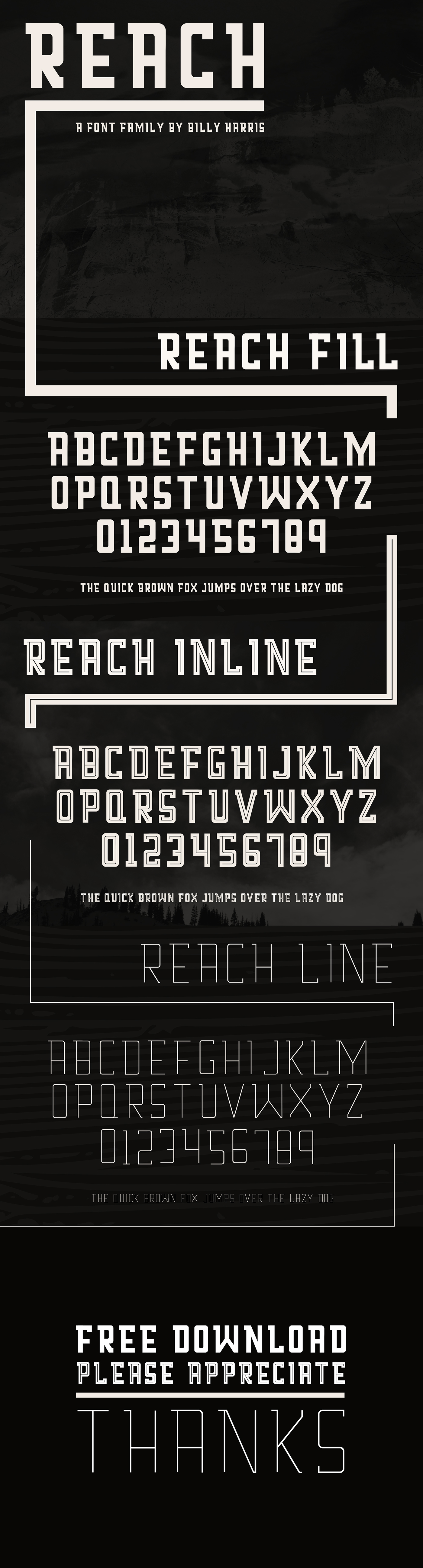 Reach Font Family